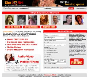 clickandflirt com online flirting and international dating