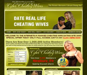 Cyber Cheating Wives image